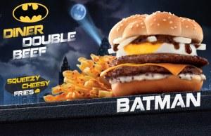 Batman Burger Meal Now in Hong Kong Mc Donalds