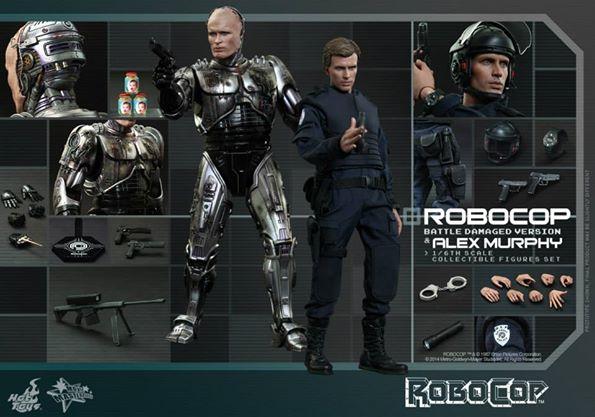 RoboCop & Alex Murphy Collectible Figures Set