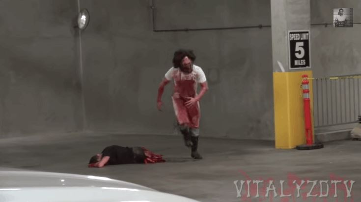 Chainsaw Massacre Prank