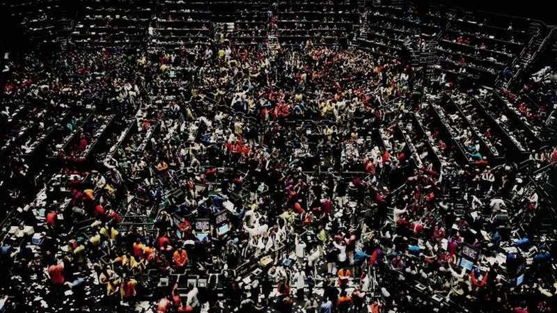 "Andreas Gursky: ""Chicago Board of Trade III"""