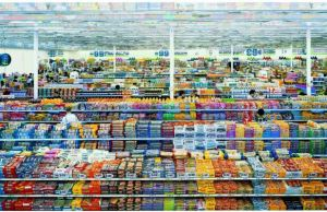 Andreas Gursky 99 Cent II Diptychon 2001