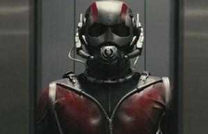 Michael Douglas On The Set Of Ant-Man