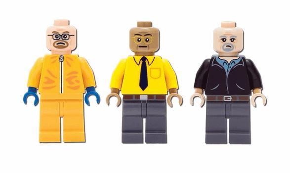 Breaking Bad Superlab Legoset