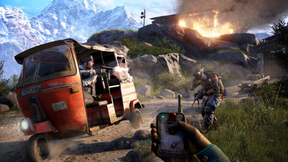 Ready To See a Rickshaw in Far Cry 4 New Trailer ?