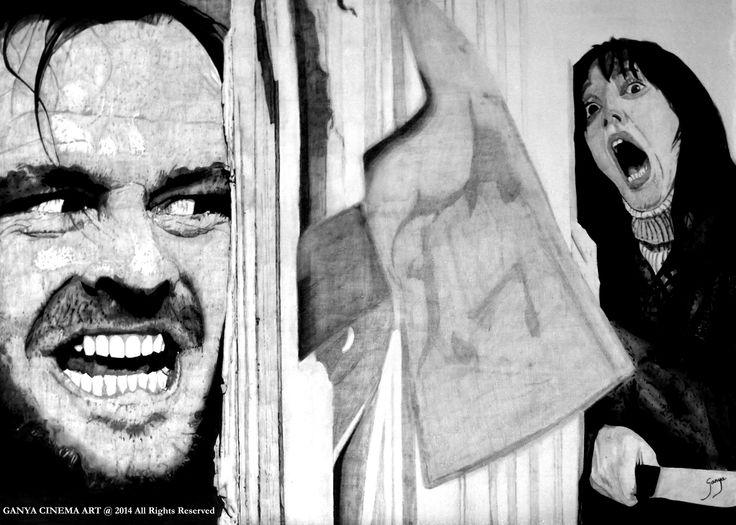 Horror Movie Inspired Art Prints  (1)