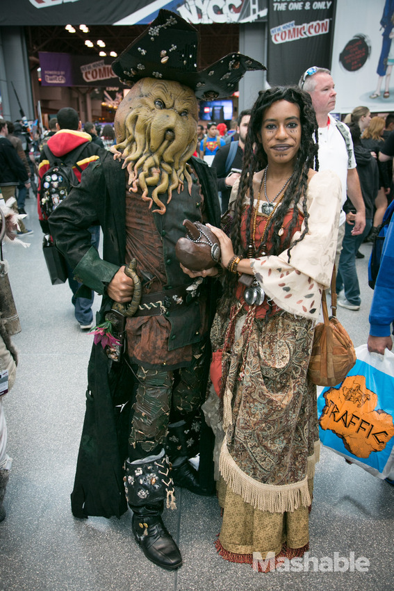 Cosplays At New York Comic Con 2014