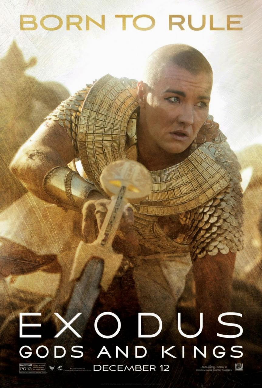 Ridley Scott's Exodus Gods and Kings New Posters