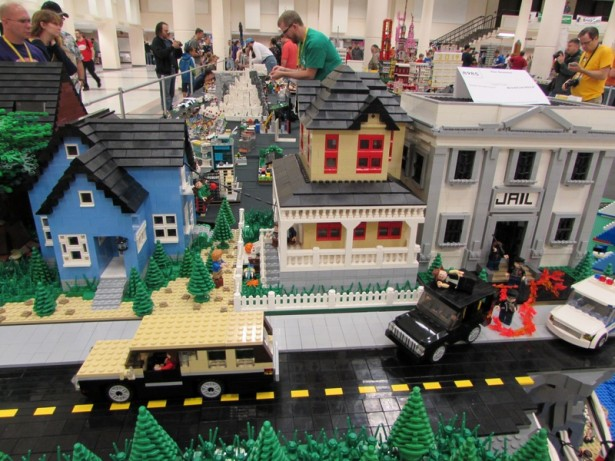 LEGO Diorama of THE GOONIES
