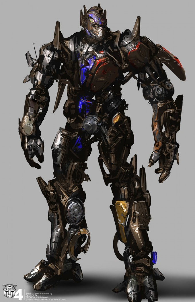 Transformers Age of Extinction Concept Art by Ed Natividad (2)