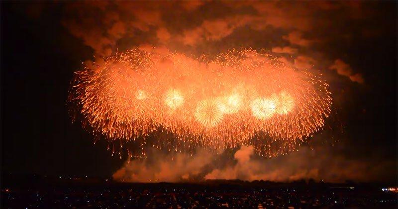 japan largest Fireworks