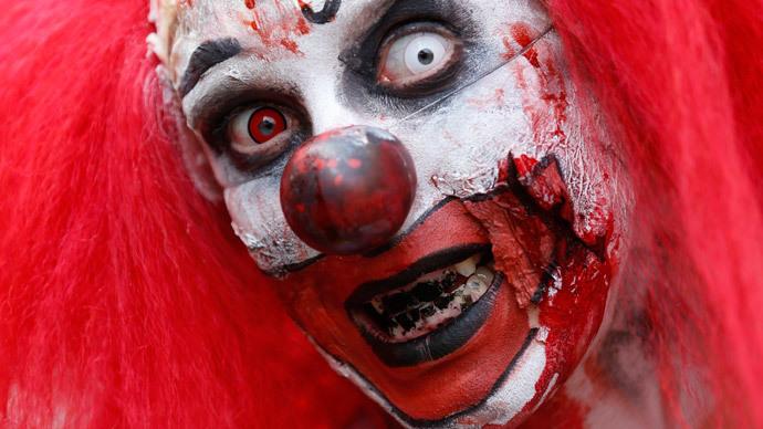 Viral Evil Clown Attacks Grip France