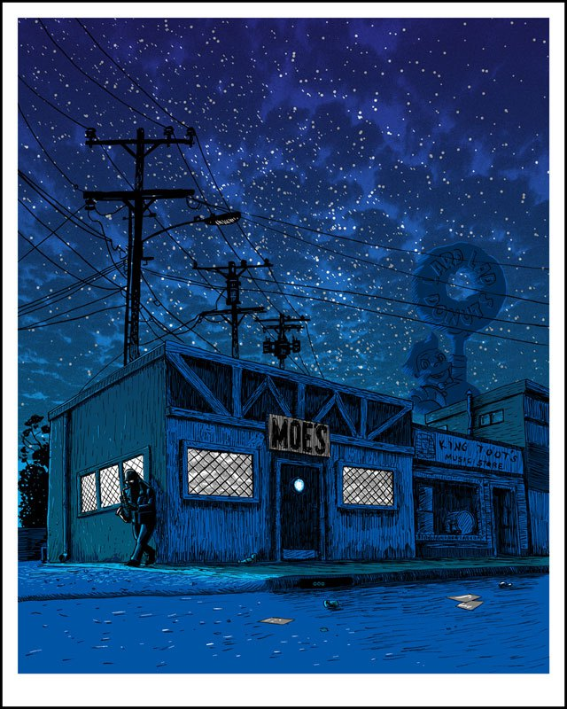 the simpsons abandonced springfield