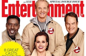 Ghostbusters Reunited On Entertainment Weekly Cover