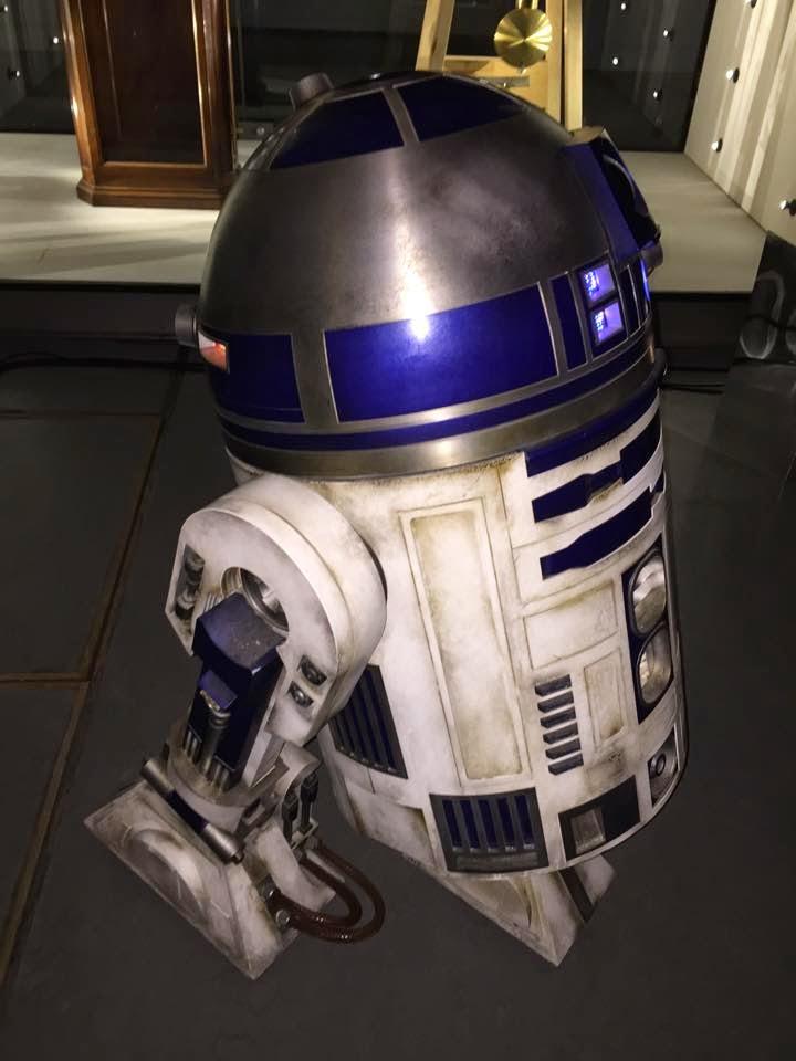 R2-D2 Unit Used in STAR WARS: EPISODE VII