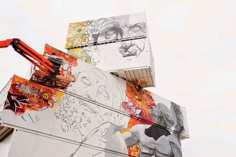 shipping-container-gods-graffiti-street-art-by-pichi-and-avo-north-west-walls-belgium-2014-2