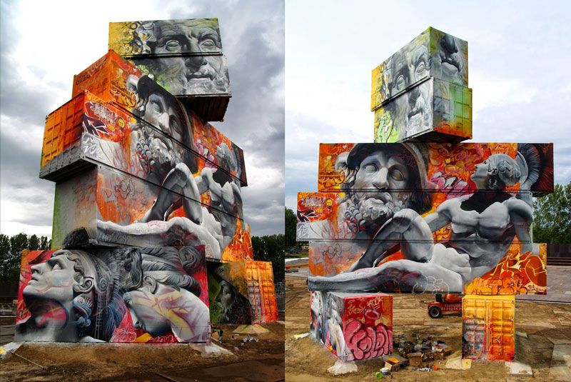Shipping Gods by Pichi and Avo