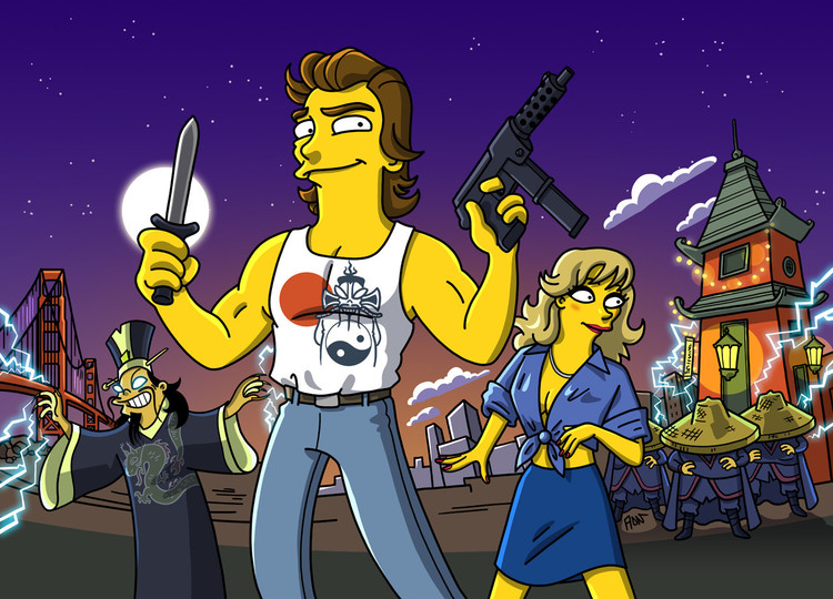 Movies Get Simpsons Treatment