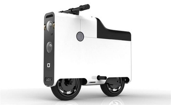 Boxx Electric Suitcase Scooter