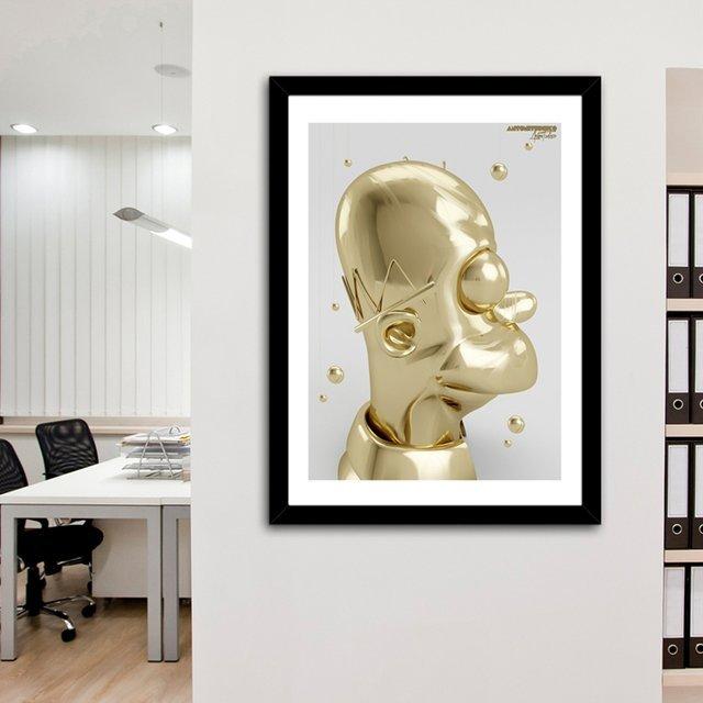 Elegant Homer Print by Antoni Tudisco