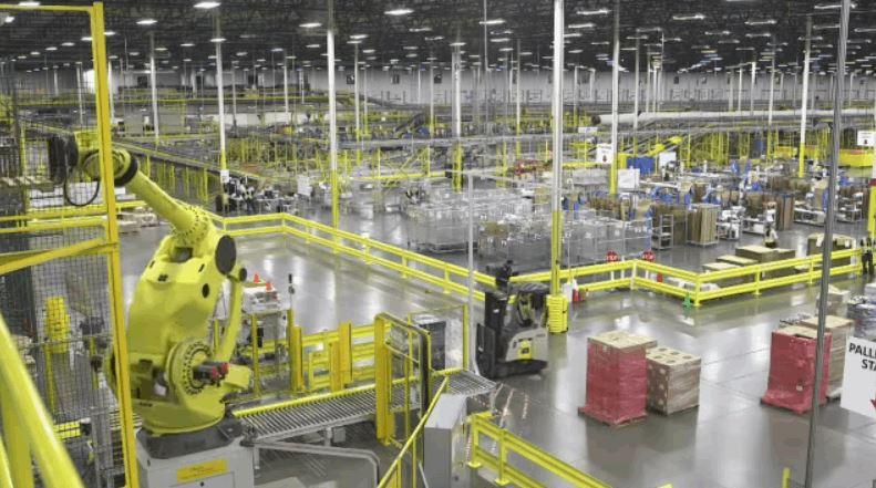 Amazons High Tech Fulfillment Center
