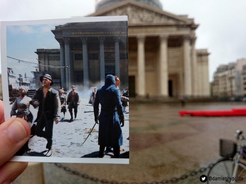 Assassin's Creed's Paris vs Paris