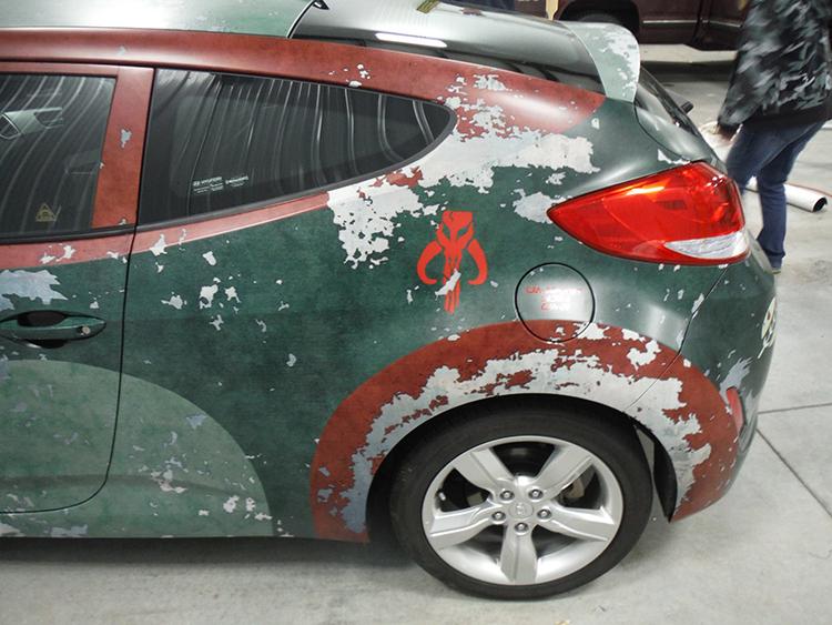 Boba Fett-Themed STAR WARS Hyundai