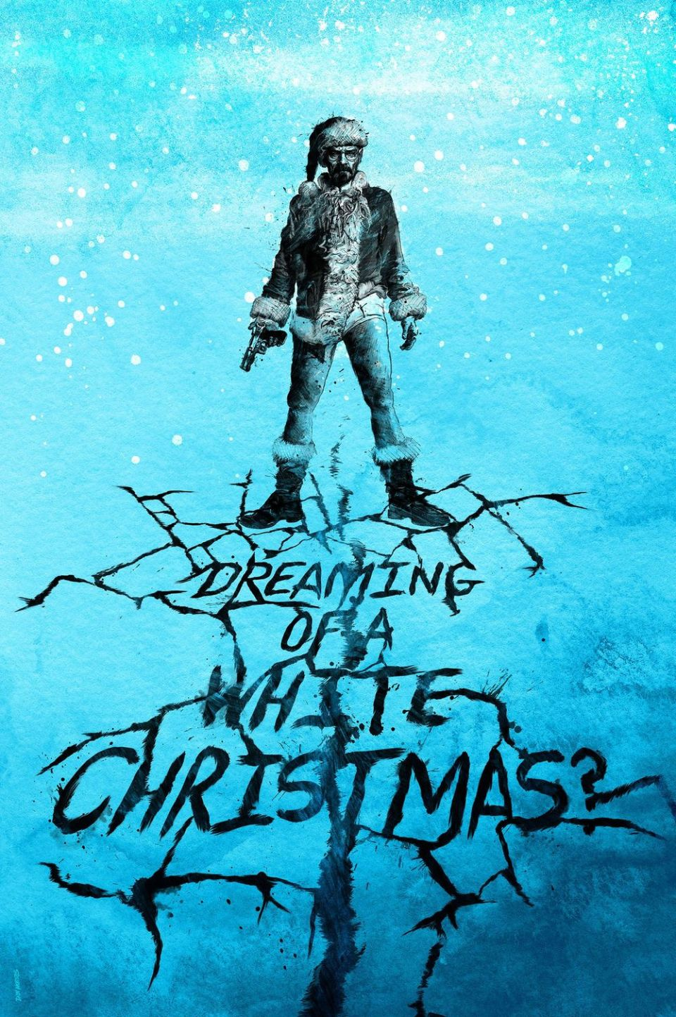Breaking Bad Christmas Art