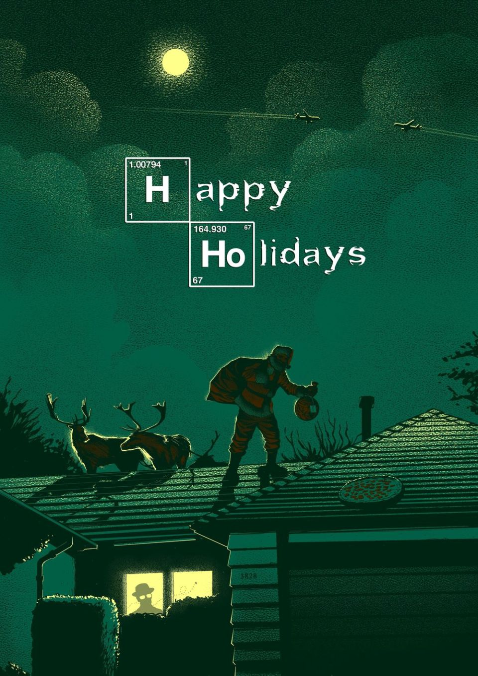 Breaking Bad Christmas Art