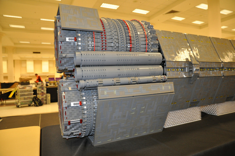 Huge HALO Spacecraft Is Made out LEGO