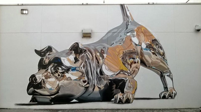 If You Think It is Chrome, Look Again It Is Spray Paint