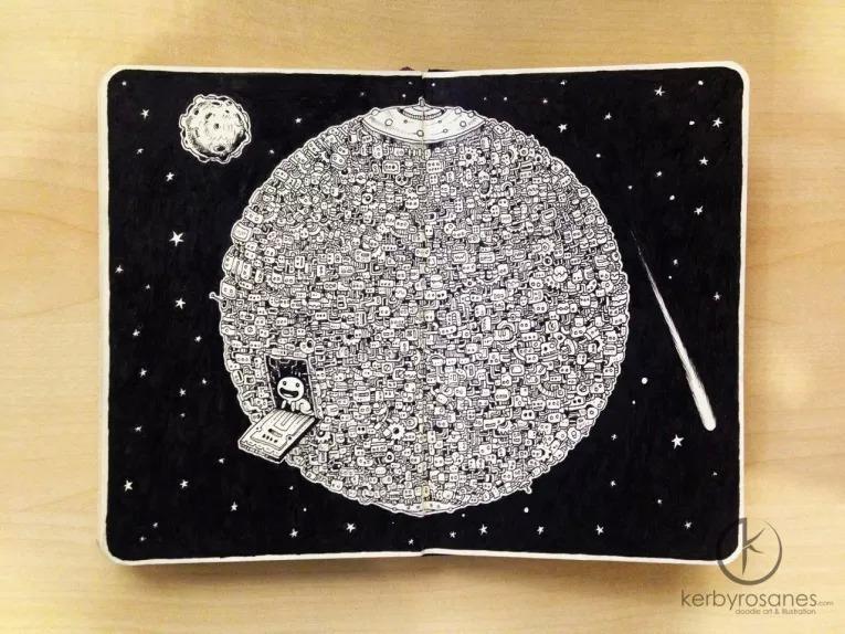 Incredible Pen Drawings