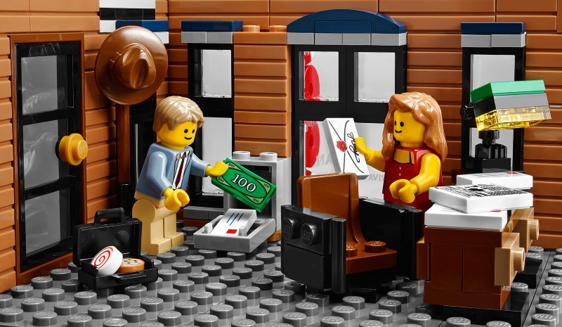 Official LEGO Detective Office Set