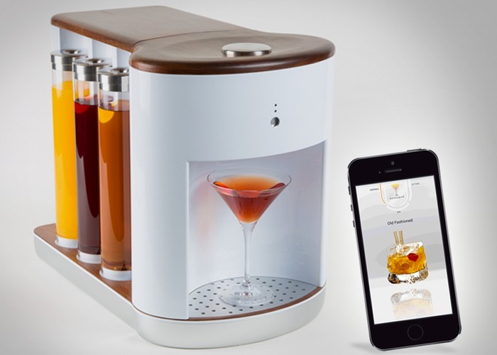 Somabar Robotic Bartender Mixes The Perfect Cocktail