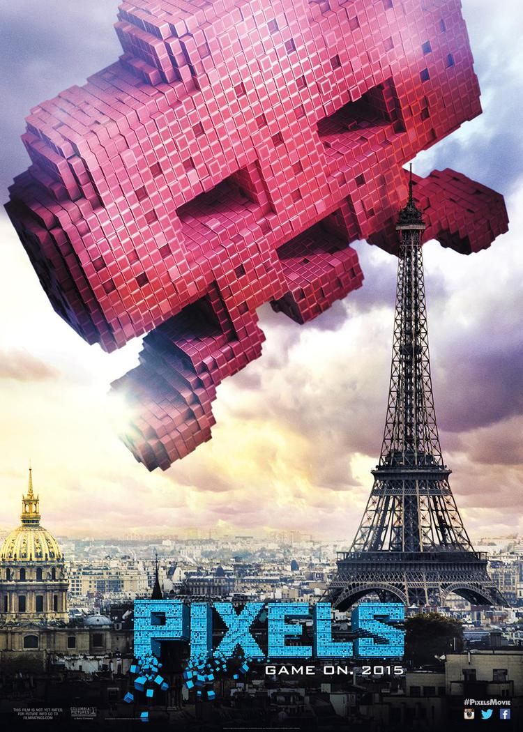 centipede-and-space-invaders-attack-in-2-new-posters-for-pixels
