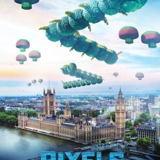 Pixel centipeded Movie Poster
