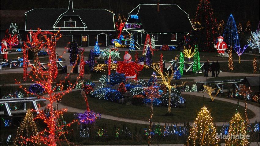 Christmas Winning 1.5 Million Lights