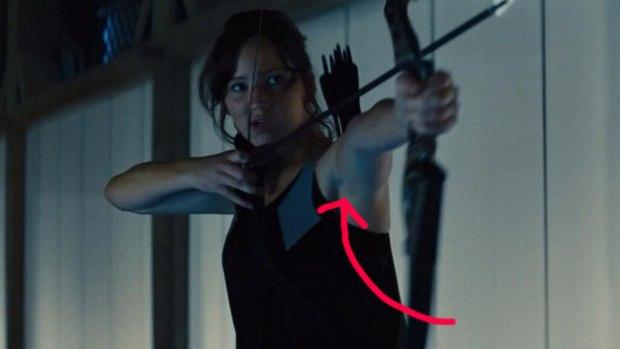 8. Katniss Everdeen, The Hunger Games: Catching Fire (2013)