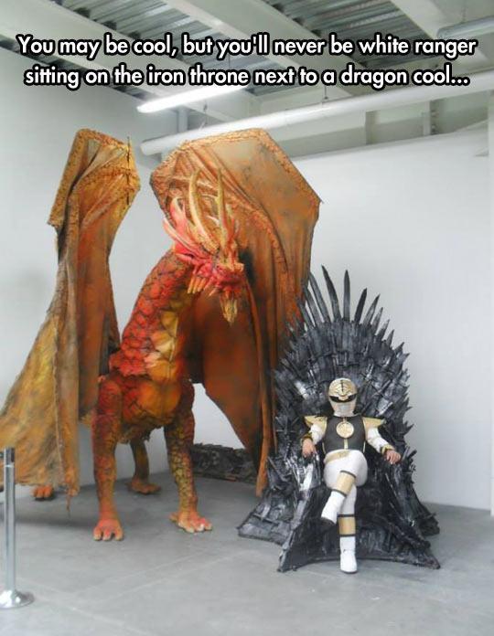 funny-White-Ranger-throne-sword-dragon-1
