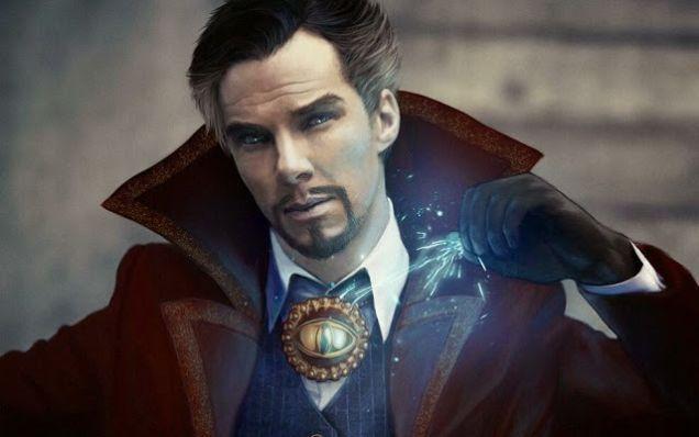 benedict as doctor strange