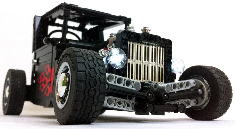 Devilish LEGO Remote Control Hot Rod