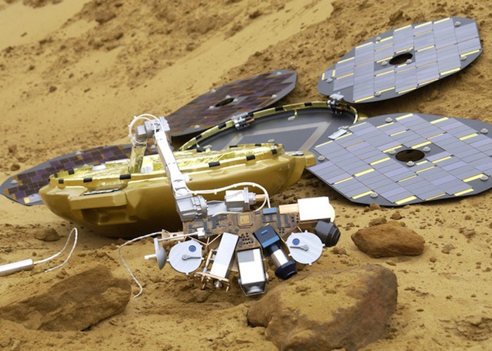 Beagle 2 Mars Probe Re-Discovered After 10 Years