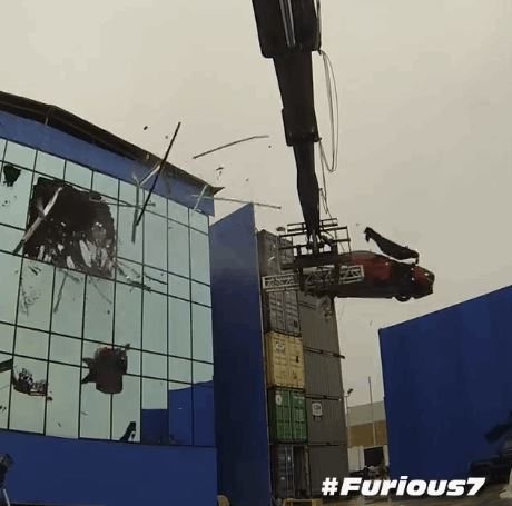 The Scenes FURIOUS Stunts Video - Behind the scenes fast and furious 7 stunts
