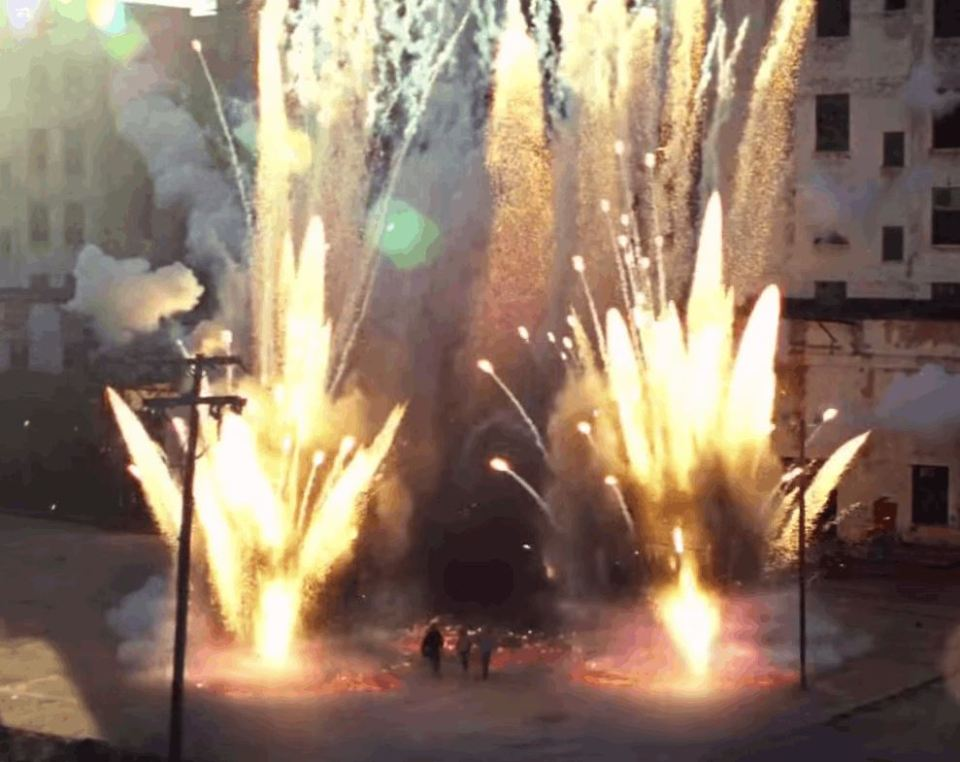 Epic Explosions From The Movies