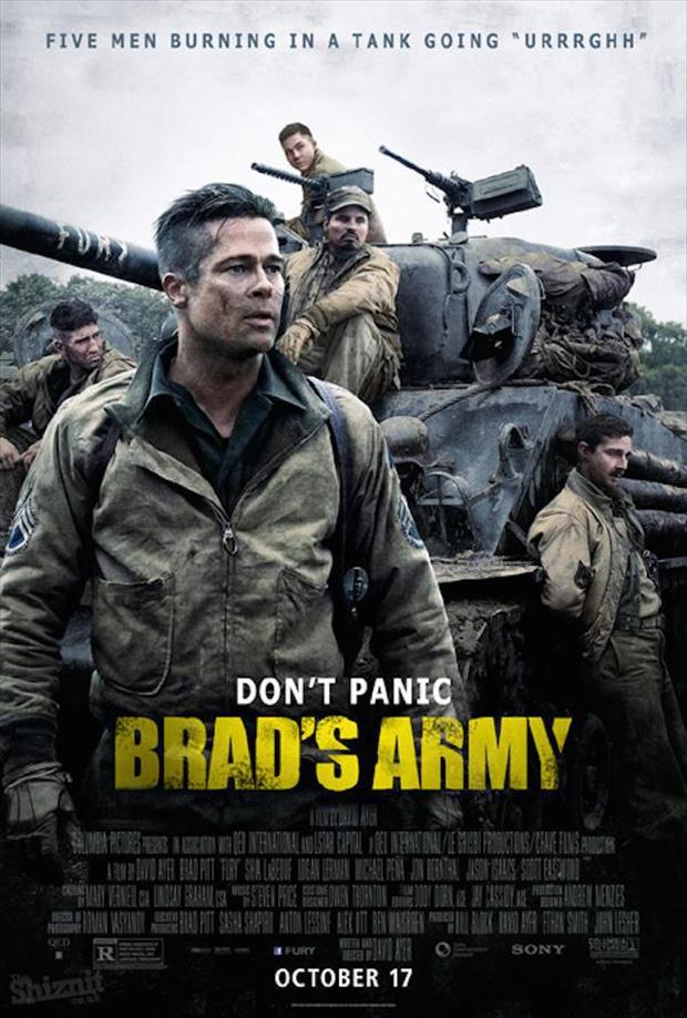 Honest 2015 Oscar Nominated Movie Posters