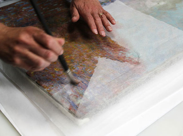 Want To Know How To Repair A$12 Million Monet (4)