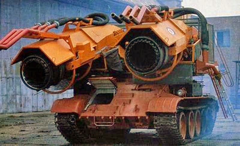 Engineers Retrofit a Tank with Jet Engines