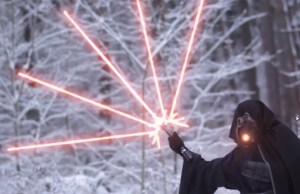 Insanely Modified Lightsabers in STAR WARS Parody