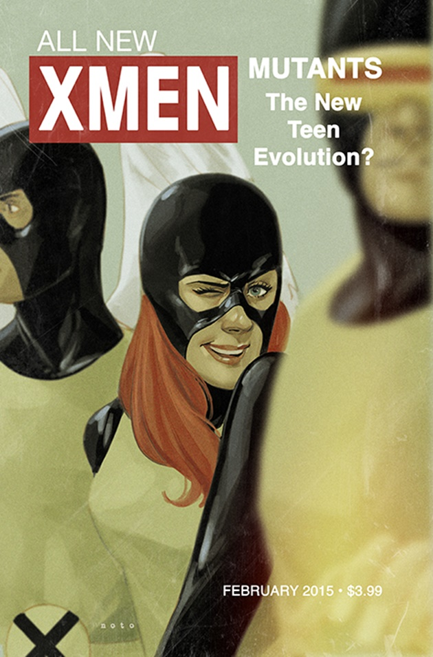 Retro Marvel Covers by Phil Noto