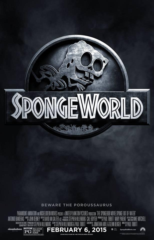 The SpongeBob Movie: Sponge Out of Water Parody Posters