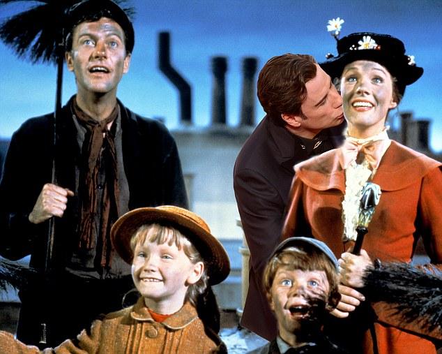 Film: Mary Poppins (1964), starring Dick Van Dyke as Bert, Julie